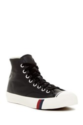 Keds Royal High Top Leather Sneaker Black
