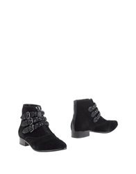 Lola Cruz Ankle Boots Black