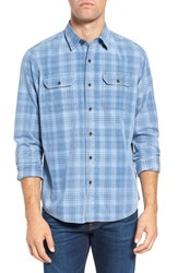 Tailor Vintage Men's Plaid Corduroy Sport Shirt