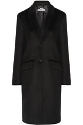 Givenchy Coat In Black Cashmere And Wool Blend