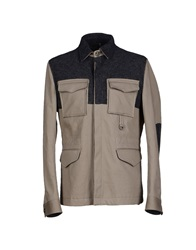 Richmond Denim Jackets Dove Grey