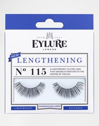 Eylure Lengthening Lashes No. 115 Lengthening 115 Lash Black