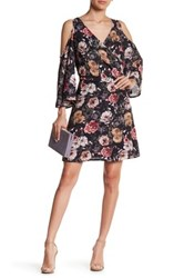 Alexia Admor Cold Shoulder Floral Dress Multi