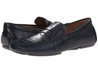 Donald J Pliner Vinco4 Navy Men's Slip On Dress Shoes
