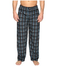 Jockey Matt Silky Fleece Pants Ebony Men's Pajama Black