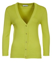 Strenesse Blue Cardigan Apple Green Neon Green
