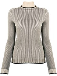 Marco De Vincenzo Ribbed Knit Roll Neck Sweater 60