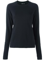 Blk Dnm Crew Neck Sweatshirt Black