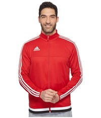 Adidas Tiro 15 Training Jacket Power Red White Black Men's Coat