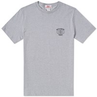 Battenwear Travel Tee End. Exclusive Grey