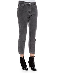 3.1 Phillip Lim Destroyed Saddle Cropped Jeans