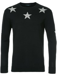 Guild Prime Star Print Sweater Black