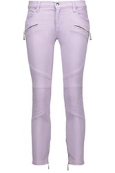 Just Cavalli Low Rise Skinny Jeans Lilac