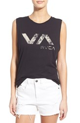Women's Rvca 'Lucidity' Graphic Muscle Tee