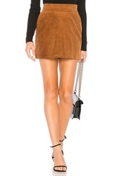 Line And Dot Jeska Skirt Brown
