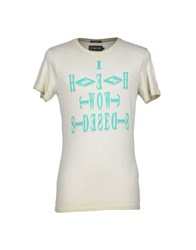 Energie T Shirts Ivory