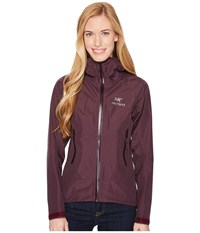 Arc'teryx Beta Sl Jacket Purple Reign Women's Coat Red