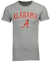 Retro Brand Men's Alabama Crimson Tide Midsize T Shirt Gray