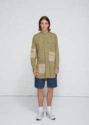 J.W.Anderson Jw Anderson 'S Long Workwear Shirt In Bamboo Size 46 100 Cotton