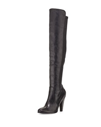 Mikaela Over The Knee Boot Black Frye