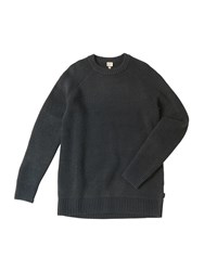 Bench Men's Teabreak Crew Neck Jumper Total Eclipse