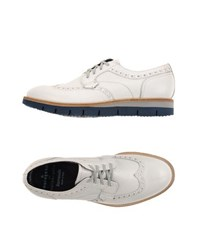Barracuda Footwear Lace Up Shoes Men White