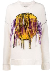 Zadig And Voltaire Fashion Show Lakers Nba X Zv Jumper Neutrals