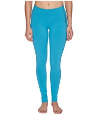 Life Is Good Night Sleep Legging Fresh Aqua Women's Pajama Blue