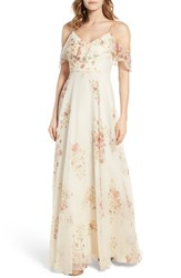 Jenny Yoo Women's Mila Off The Shoulder Gown