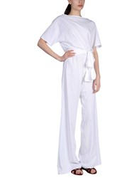 Fisico Jumpsuits White