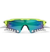 Vetements Oakley Spikes 400 D Frame Acetate And Rubber Sunglasses Blue