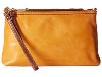 Hobo Darcy Saffron Cross Body Handbags Orange