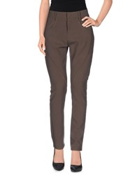 Just For You Trousers Casual Trousers Women Dark Brown