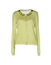 Moschino Cheap And Chic Moschino Cheapandchic Knitwear Cardigans Women Acid Green