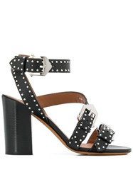 Givenchy Buckle Detail Sandals Black