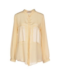 Soho De Luxe Shirts Light Yellow