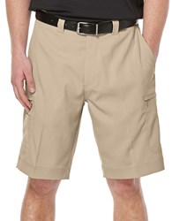 Callaway Performance Flat Front Shorts Beige