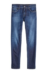 Dolce And Gabbana Slim Jeans With Pocket Patch