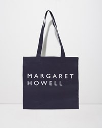Margaret Howell Logo Bag Navy