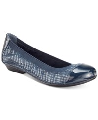 Karen Scott Ronni Flats Only At Macy's Women's Shoes Navy