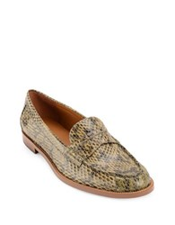 Lauren Ralph Lauren Barrett Penny Slip On Loafers Military Green