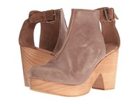 Free People Amber Orchard Clog Taupe Women's Clog Shoes