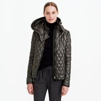 J.Crew Authier Quilted Diamond Jacket