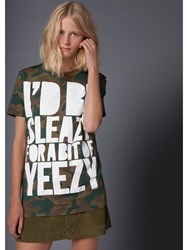 House Of Holland 10Th Anniversary Yeezy T Shirt Green