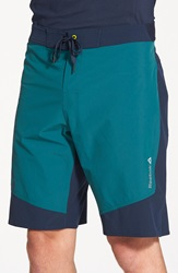 Reebok 'One' Cordura Series Training Shorts Deep Teal Faux Indigo