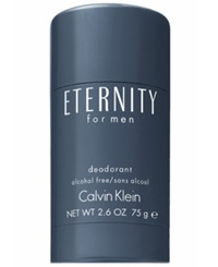 Receive A Complimentary Eternity Deodorant With Large Spray Purchase From The Calvin Klein Men's Fragrance Collection