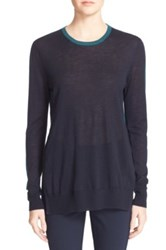 Rag And Bone Verity Cashmere Pullover Blue