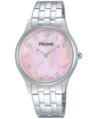 Pulsar Women's Dress Sport Stainless Steel Bracelet Watch 32Mm Ph8139 No Color