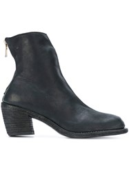 Guidi Anfibio Boots Buffalo Leather Leather 38.5 Black