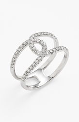 Bony Levy 'Knot' Diamond Cocktail Ring Nordstrom Exclusive White Gold